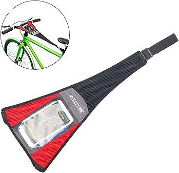 RUNACC entrenador de bicicletas con malla elástica absorbente de ...