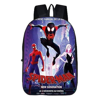 Mochila Escolar Para Niños Spiderman 3D