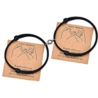 Magnet Magnetic Bracelets Mutual Attraction for Couples Women Men Best Friends Relationship Matching Braided Rope…