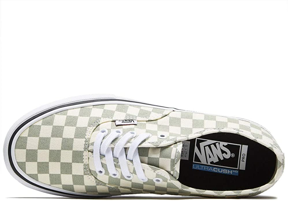 Vans Men Shoes Authentic Pro Checkerboard Desert Sage Sneakers VN000Q0DU13