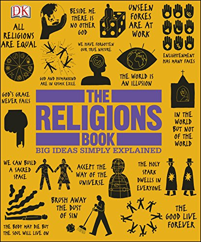 The Religions Book (Big Ideas Simply Explained) cover
