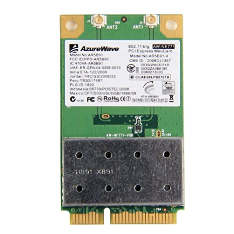 Atheros AR5B91 WLAN Driver for PC