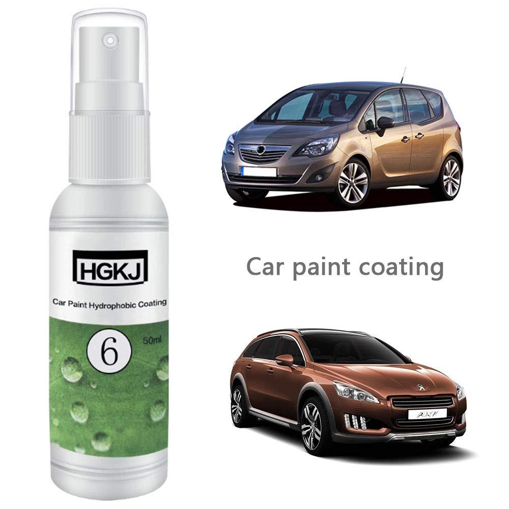 Umiwe Car Paint Protective Agent HGKJ-6 50ML Car Wash Car Care Auto Paint Coating Kit de Pintura del Coche: Amazon.es: Coche y moto