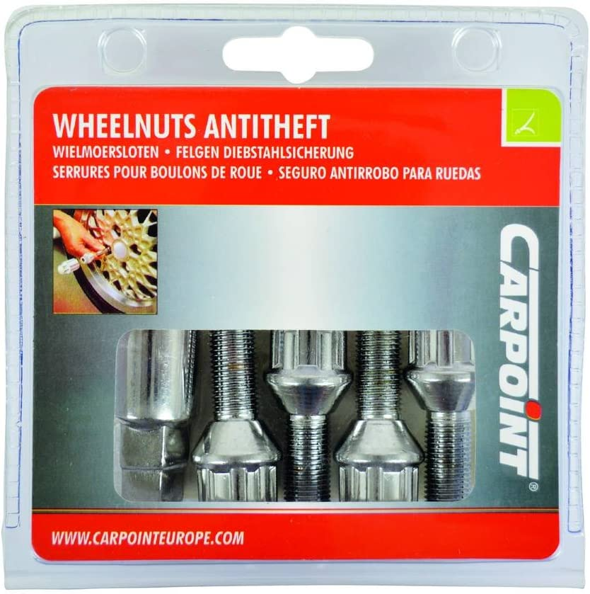 Carpoint 0520501 Anti-Theft Locking Devices for Rims with 1 Type-A