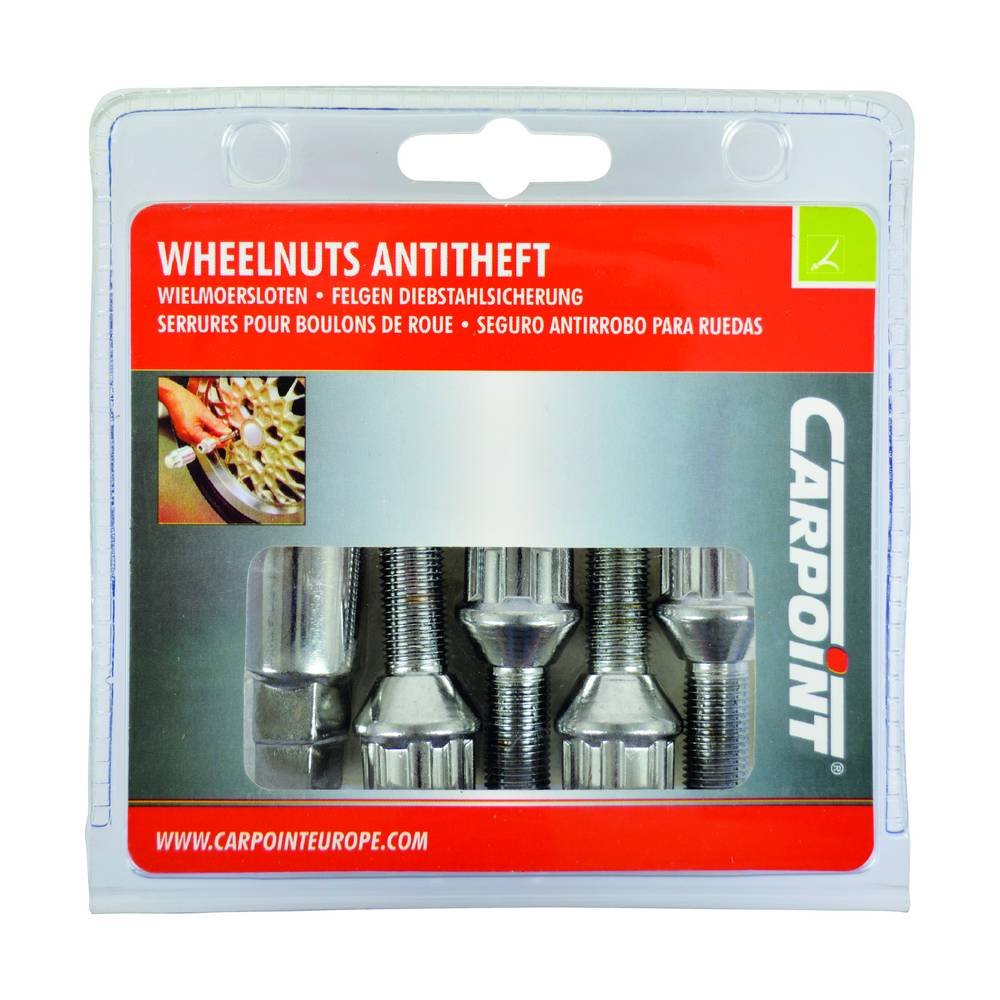 Amazon.com: Carpoint 0520501 Anti-Theft Locking Devices for Rims with 1 Type-A: Automotive