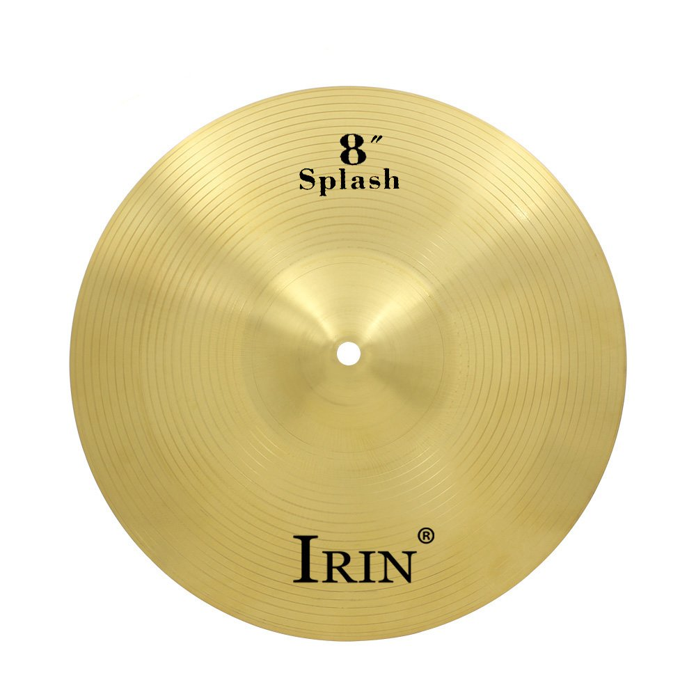 Festnight Drum Cymbal, Brass Alloy Cymbal for Drum Set