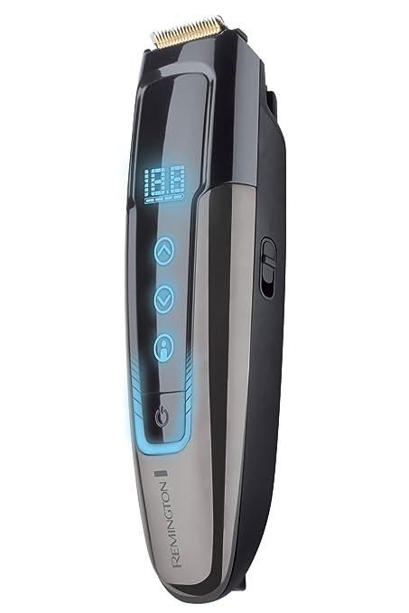 Remington MB4700 TouchTech - Máquina de afeitar inalámbrica, tecnología SenseSpeed, GroomMotion, función de