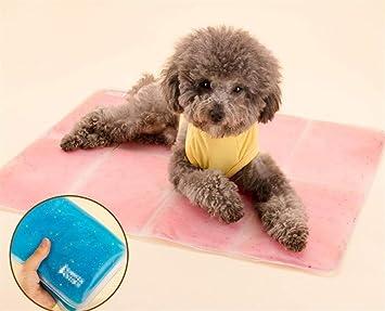 Xinjiener Alfombrilla de enfriamiento para Perros Alfombrilla de Gel autorefrigerante Gato para Mascotas Gato Fresco Alfombrilla