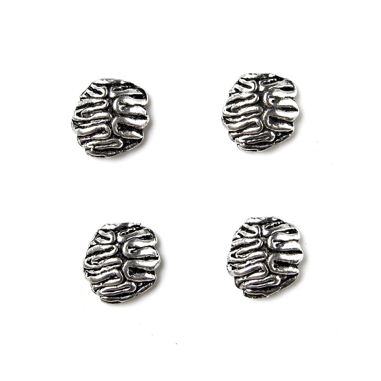 Quality Handcrafts Guaranteed Brain Tuxedo Studs