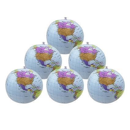 HYHP - 6 bolas hinchables para globo de tierra de playa de ...