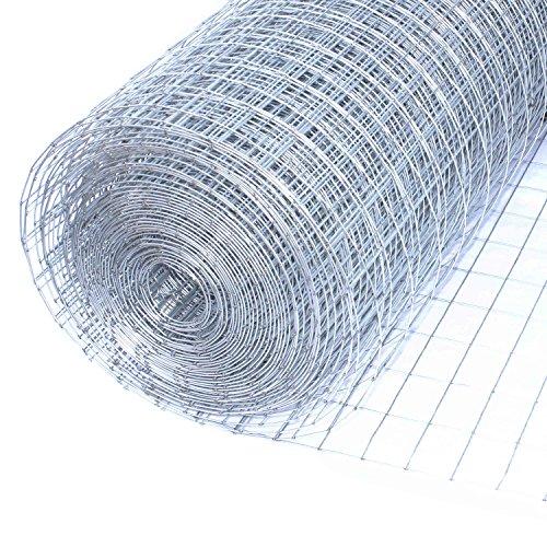 Cheap ALEKO WM24X25M1X2G16 Mesh Wire Roll Cloth 16 Gauge Steel 24 x 25 1″ x 2″ Mesh