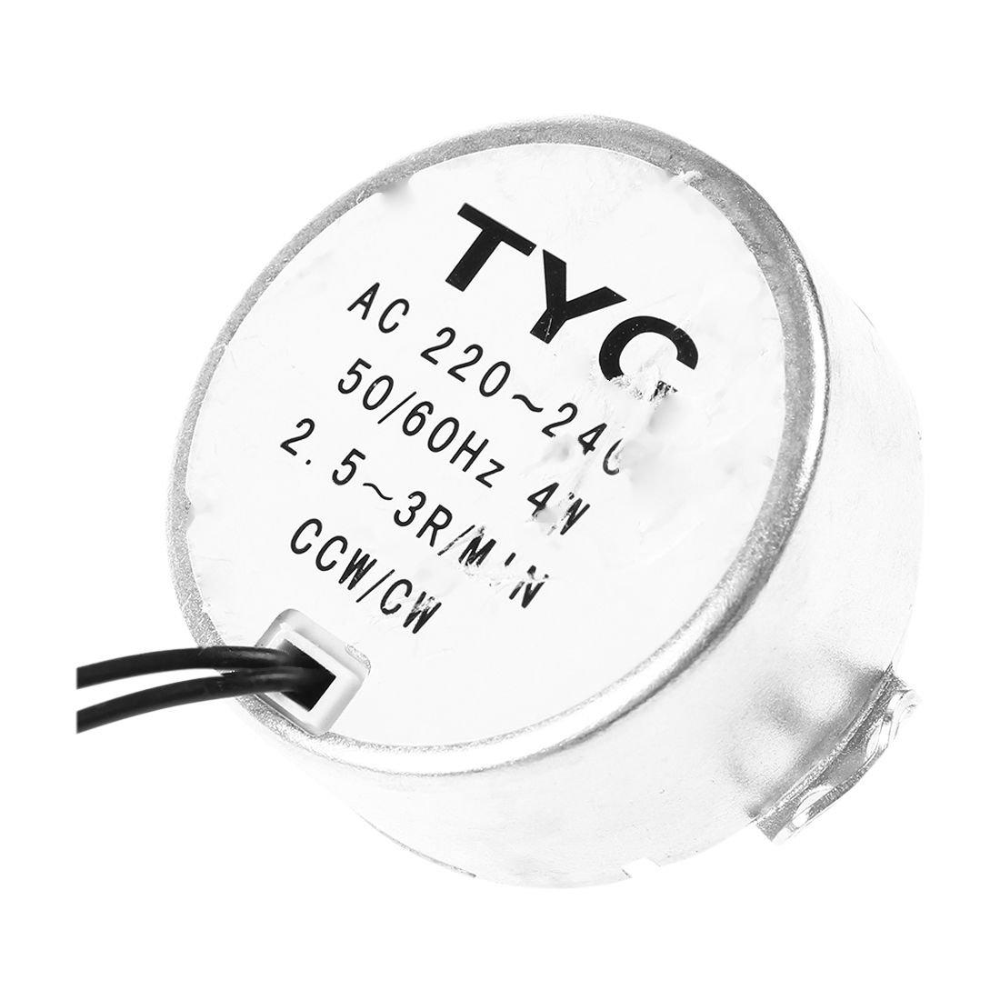 Cikuso TYC50 AC Motor sincronico 220V 3RPM 4W 8Kgf.cm Par CCW//CW