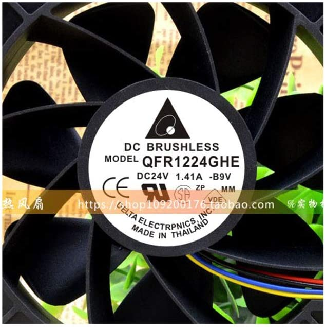 Cytom for Original Authentic Delta QFR1224GHE DC24V 1.41A 4 line high-end Equipment Cooling Fan
