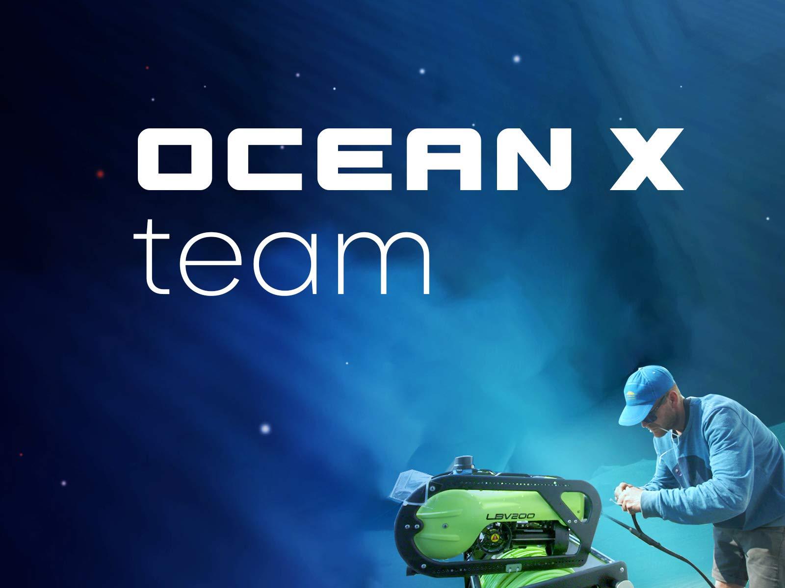 Ocean X team on Amazon Prime Video UK