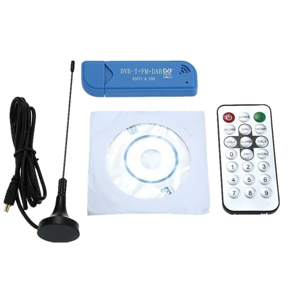 Dovewill DVB-T DAB FM RTL2832U & R820T Tuner Mini USB Stick RTL-SDR SDR for SDR# HDSDR FM+DAB & SDR-DVB-T Receiver Set,Radio