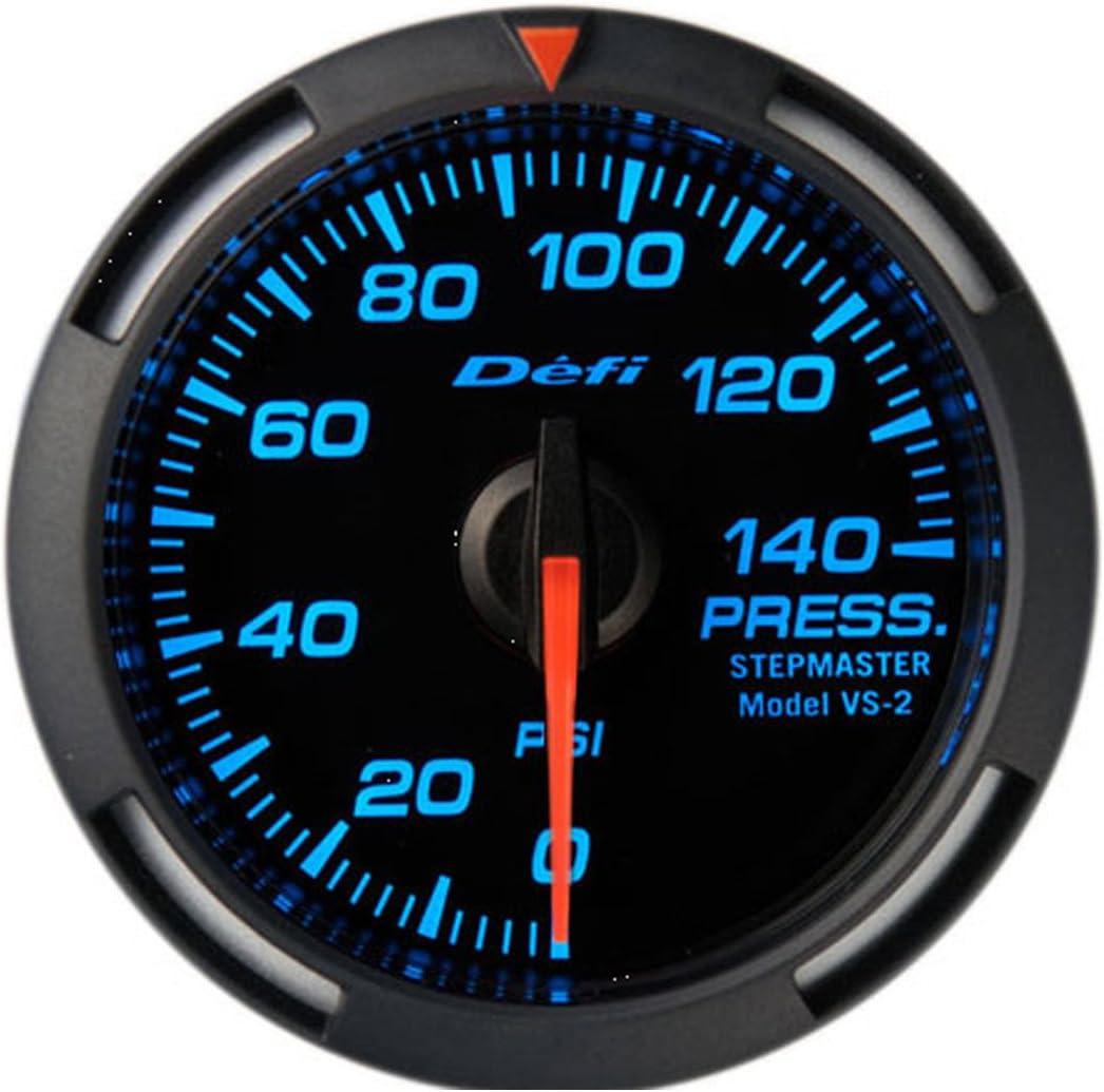 DEFI BLUE RACER ELECTRONIC OIL FUEL PRESSURE GAUGE
