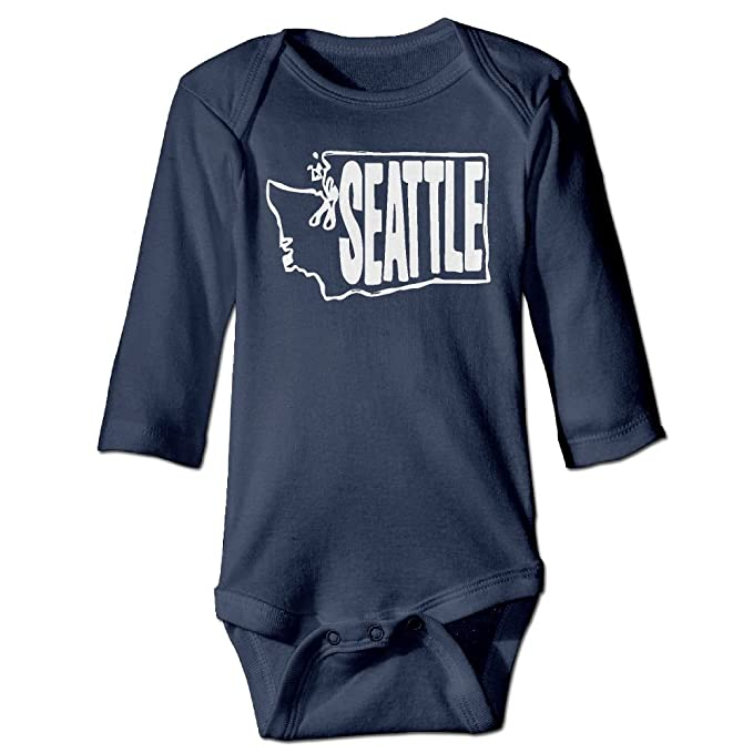 Amazon Com Mri Le1 Baby Girl Jumpsuit Seattle Washington State