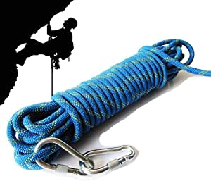 BAOFI Cuerda de Escalada de 15 mm, para Exteriores, para ...