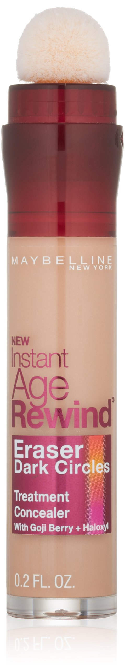 Maybelline Instant Age Rewind Eraser Dark Circles Treatment Concealer, Honey, 0.2 fl. oz.