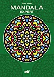 エルフ ぬりえブック MANDALA EXPERT 緑(マンダラお絵かきエキスパート)