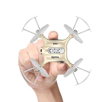 Syma X20 Mini Drohne UFO RC Quadcopter Nano Kleine Zimmer Drone Kinder Weiß Elektrisches Spielzeug