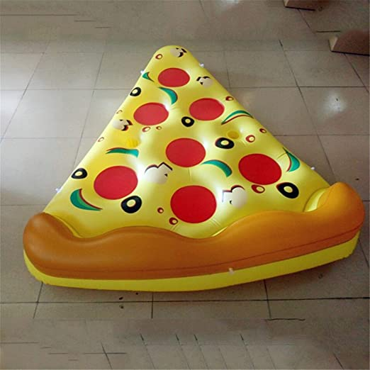 JX-WATER FLOATS PVC Agua Hinchable Pizza Fila Flotante ...