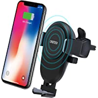 Wireless Car Charger, CHOETECH [Qi Certified] Fast Wireless Car Charging Air Vent Mount 7.5W Fast Charge for iPhone 11 Pro Max XR Xs Max, 10W Fast Charge for Galaxy Note 10/S10, Note 9/S9, Note 8, etc