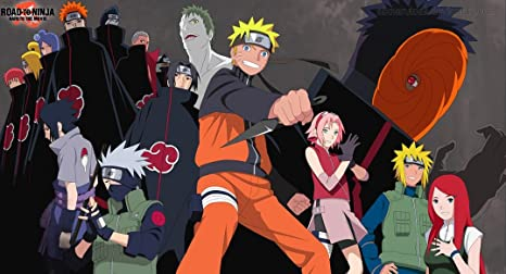 Road to Ninja Naruto the Movie (44x24 inch, 111x60 cm) Silk ...