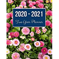 Image for 2020-2021 Two Year Planner: Purple Flower Cover | 2020 Planner Weekly and Monthly | Jan 1, 2020 to Dec 31, 2021 | Calendar Views