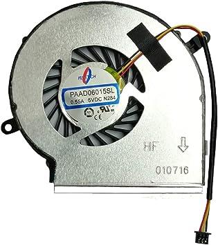 Ventilador de refrigeración para Ordenador portátil MSI GE62 GE72 PE60 PE70 GL62 GL72, PAAD06015SL N303, 3 Cables (no Ventilador de CPU): Amazon.es: Electrónica