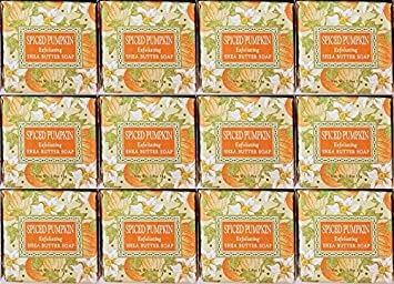 Greenwich Bay Trading Company 1.9oz Soap Bulk Packs of 12 Spiced Pumpkin