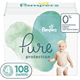 Pampers Pampers pure protection diapers size 4 108 count, 108 Count