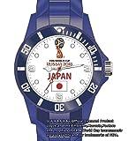 【感動をありがとう!】FIFA公認 腕時計 2018年 ワールドカップ W杯 ロシア サッカー 日本代表 カラー かっこいい おしゃれ シリコン 人気 スポーツ