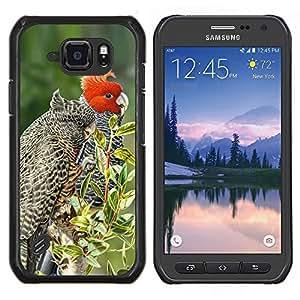 Stuss Case / Funda Carcasa protectora - Plumes arbres Nature Printemps - Samsung Galaxy S6Active Active G890A