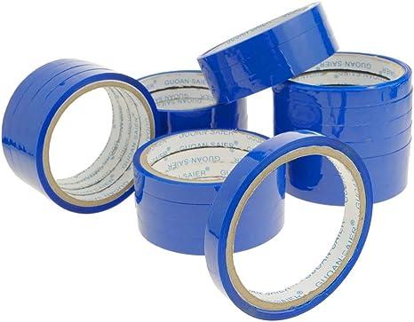 PrimeMatik - Cinta Adhesiva Azul para precintadora Cierra Bolsas de plástico 24-Pack: Amazon.es: Electrónica