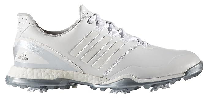 adidas W Adipower Boost 3 Zapatos de Golf, Mujer, Blanco