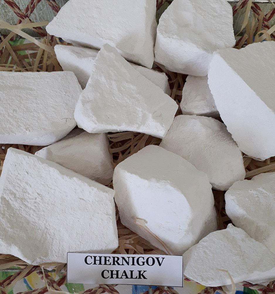 Natural Lumpy Natural Eating Chalk Edible Chalk Sawn Chalk Belgorod 8 Oz