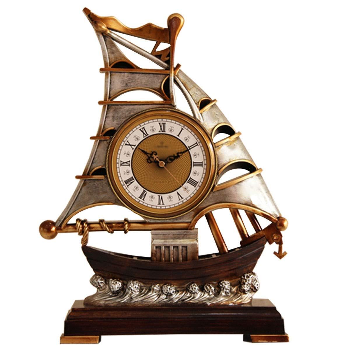 全品送料0円 RMXMY B07NPNTBNH RMXMY シンプルでスタイリッシュなレトロな置時計ヨーロッパスタイルのホームベッドルームのリビングルームの装飾装飾アートクリエイティブ時計 B07NPNTBNH, 楽器天国:655149e4 --- a0267596.xsph.ru