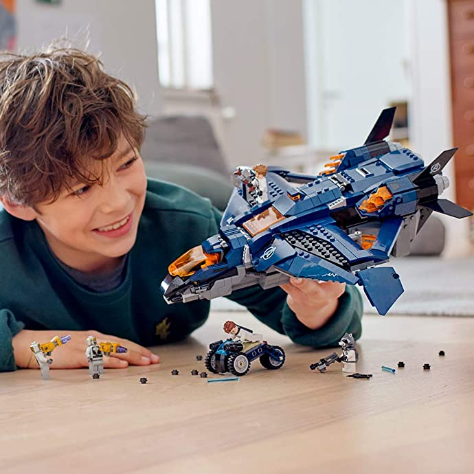 LEGO 乐高 超级英雄系列 76126 复仇者联盟昆式战斗机 决战版 积木玩具 优惠码折后£57.99 海淘免运费直邮到手约¥509