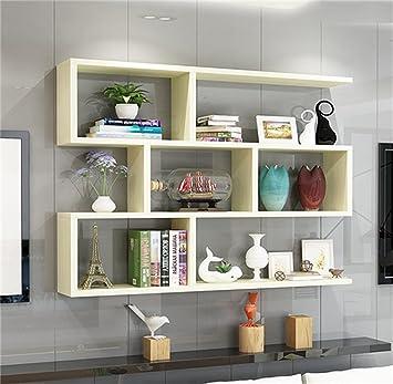 Holz Hängenden Wandregal Wohnzimmer Schlafzimmer Bücherregal