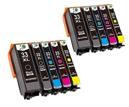 Gogo 33 x l compatible con cartuchos de impresora Epson 33 x l ...