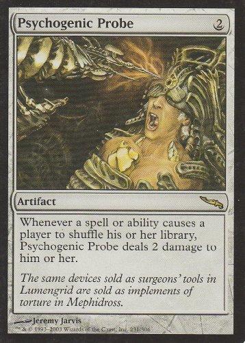 Psychogenic Probe (Magic the Gathering : Mirrodin #231 Rare)