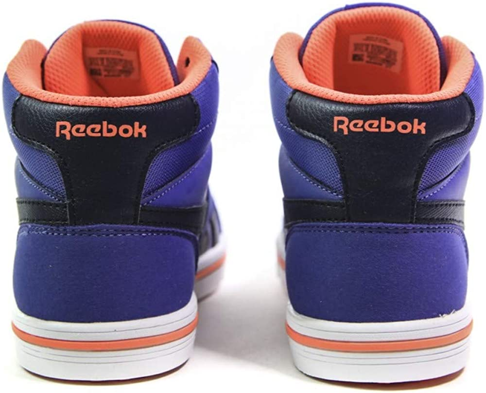 Reebok Royal Comp 2ms, Chaussures de Fitness garçon Multicolore Azul Collegiate Navy Lilac Shadow Guava Punch