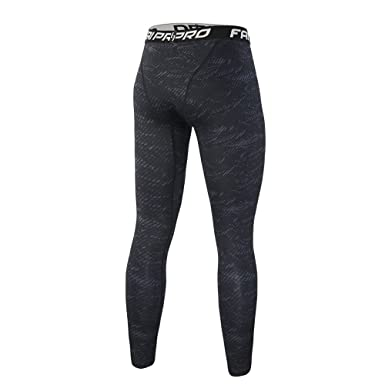 Pantalones Largo Negro Entrenamiento Leggings para Hombre Fitness Sports Gym Running Yoga Athletic Pantalones Slim Fit: Amazon.es: Ropa y accesorios