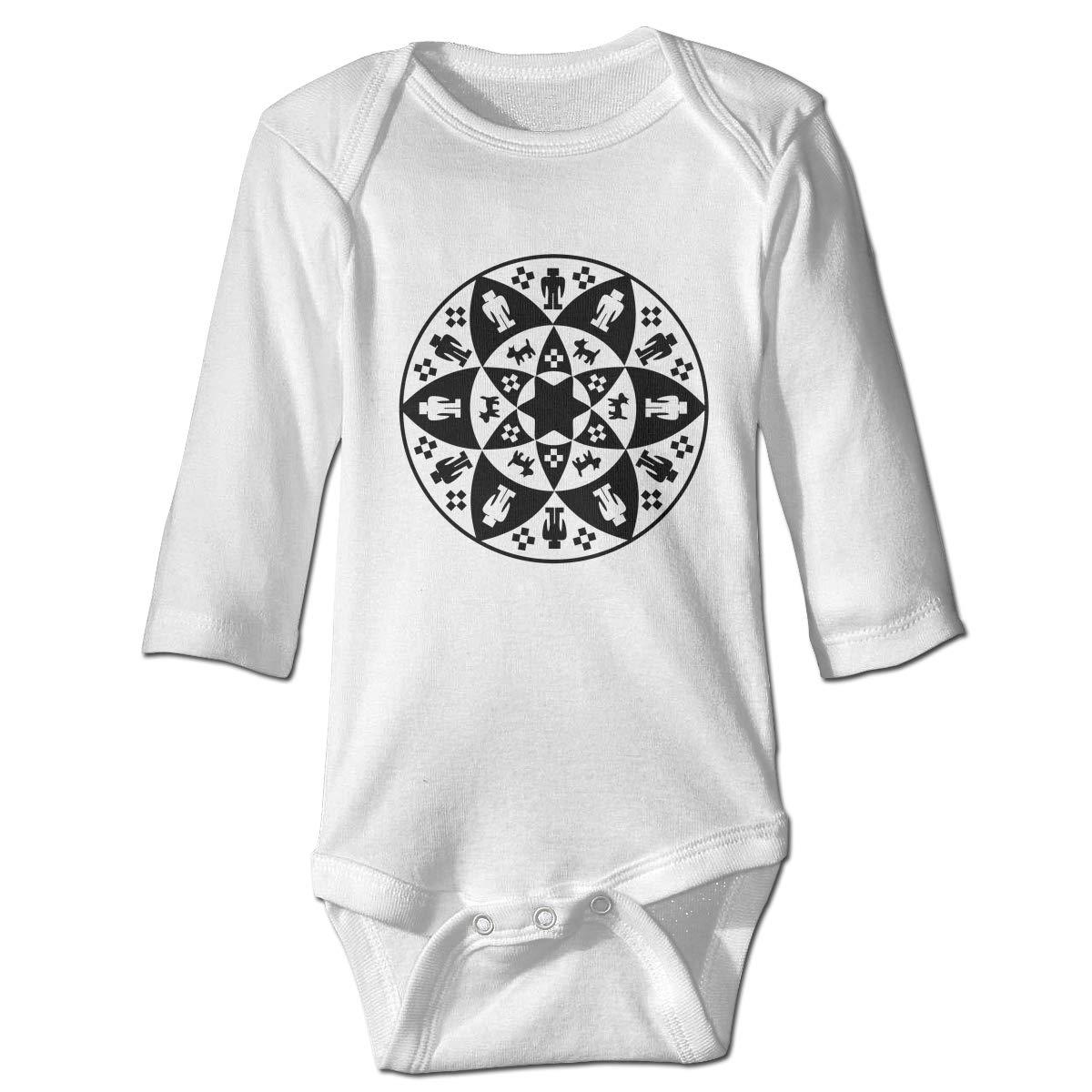 Yavapai-Prescott Tribe Long Sleeve Onesies Outfits