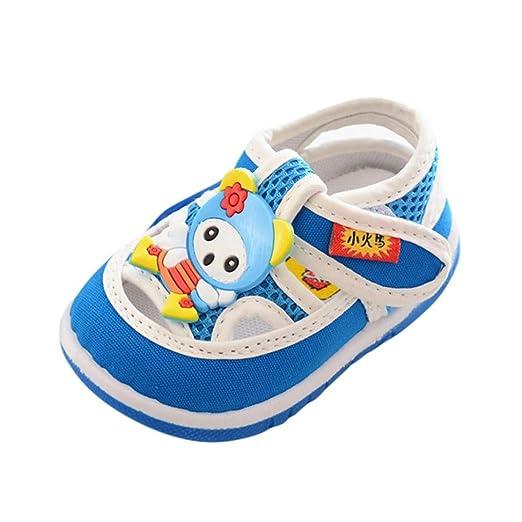 zapatos bebe niño niña Xinantime Infantil Niños Bebés y niñas Sandalias Zapatos antideslizantes de dibujos animados