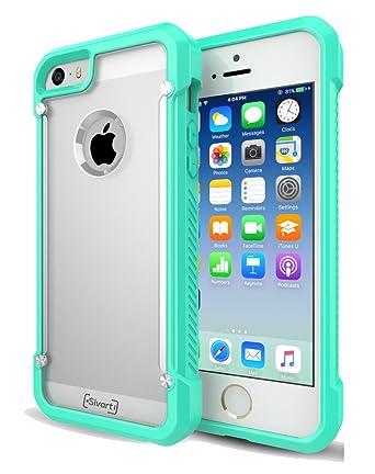 IPhone 5 5S 5SE Case Sivart Apple Shock Absorption Bumper Anti