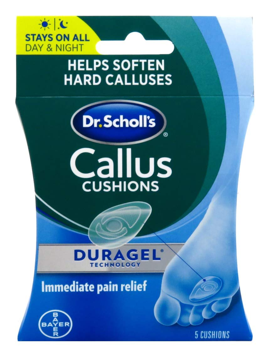 Dr. Scholls Callus Cushions Duragel 5 Count (6 Pack)