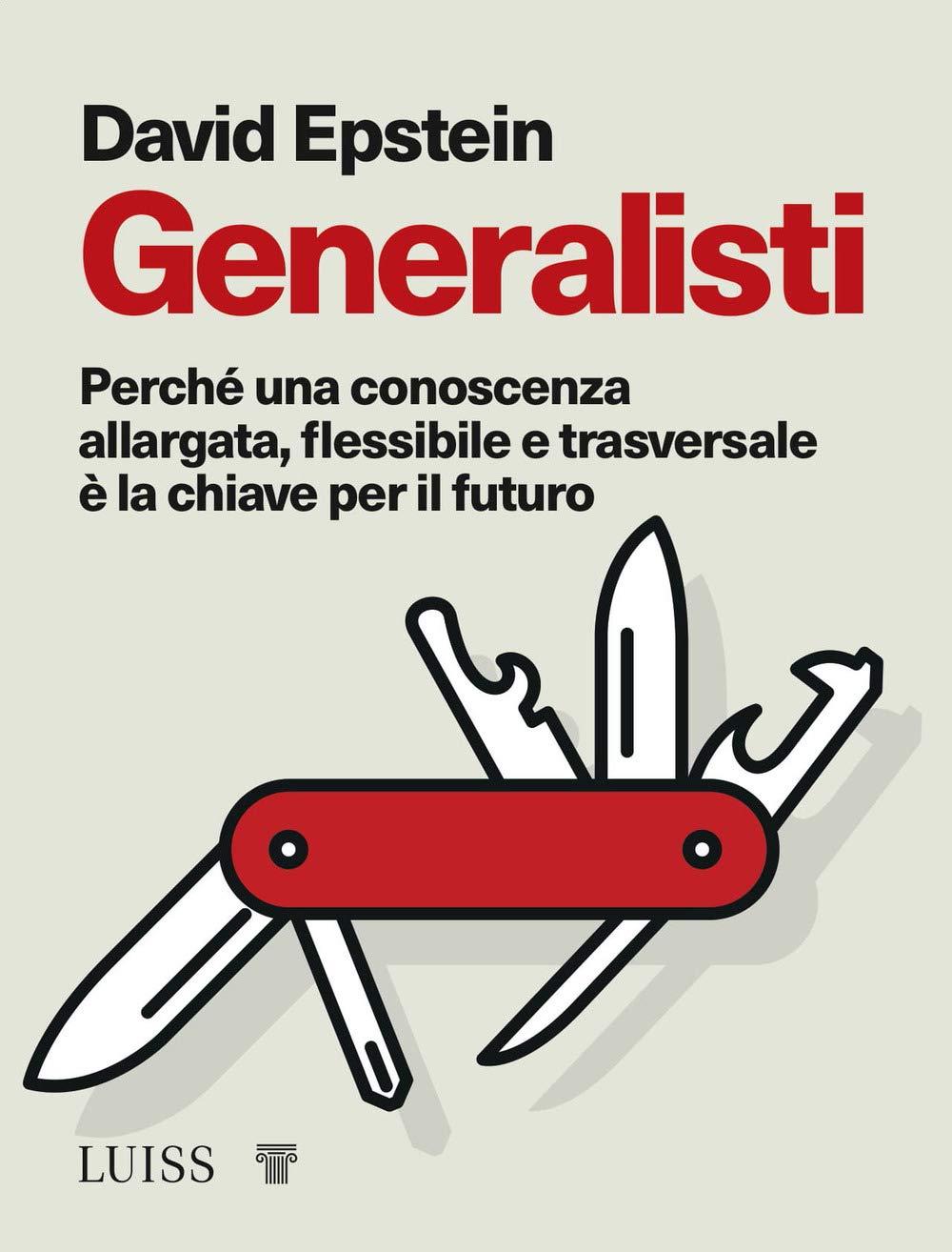 Copertina Libro Generalisti