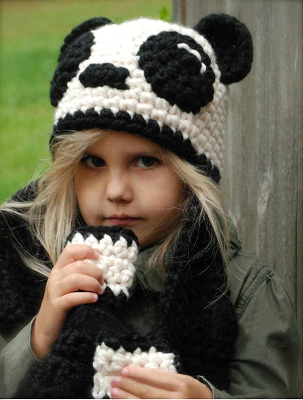 c1bea6ad336 Enfants Casquette Manteau Tricot Capuche Cagoule Enfants Animal Chapeau  Hiver Bonnet avec Écharpe Automne Tricot Chapeau Chaud bébé Garçons Filles
